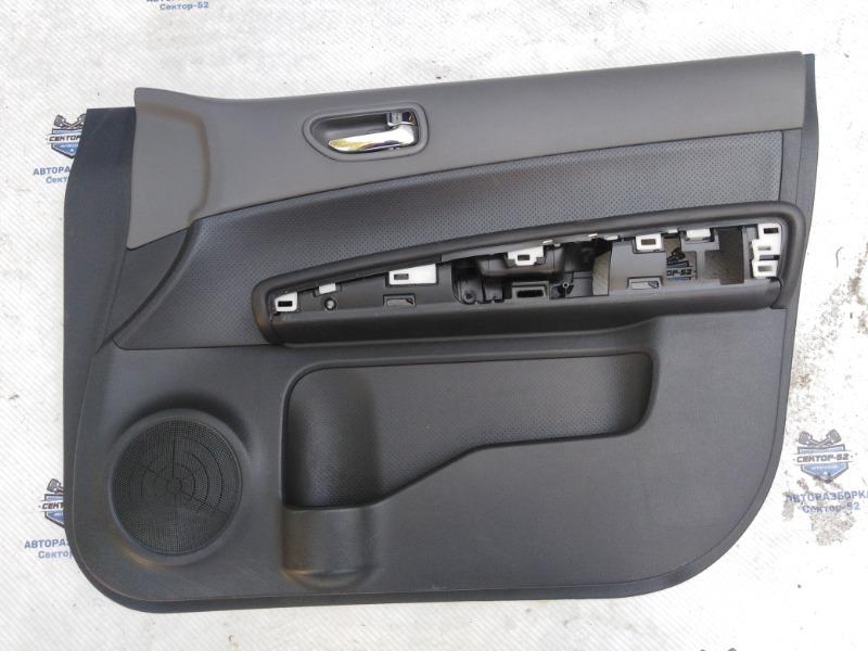 Обшивка двери Nissan X-Trail NT31 MR20DE 2008 передняя правая (б/у)
