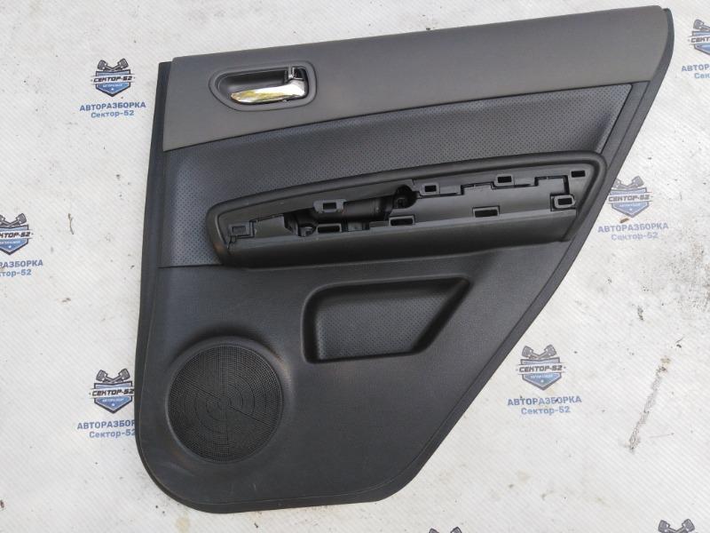 Обшивка двери Nissan X-Trail NT31 MR20DE 2008 задняя правая (б/у)