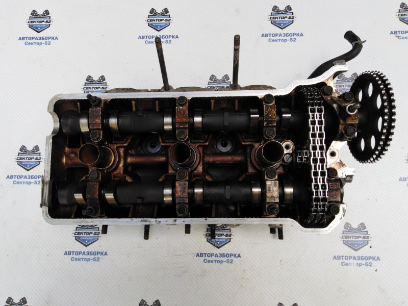 Головка блока цилиндров (гбц) Suzuki Grand Vitara TD62 H25A 2001 правая (б/у)