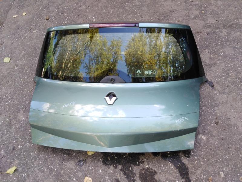 Крышка багажника Renault Megane BM K4M812 2007 (б/у)