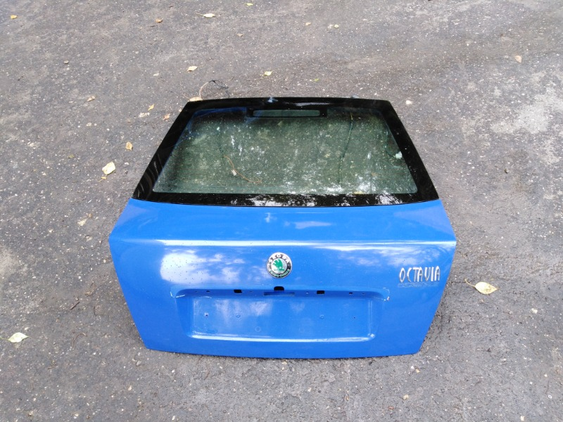 Крышка багажника Skoda Octavia A4 AEE 2004 (б/у)