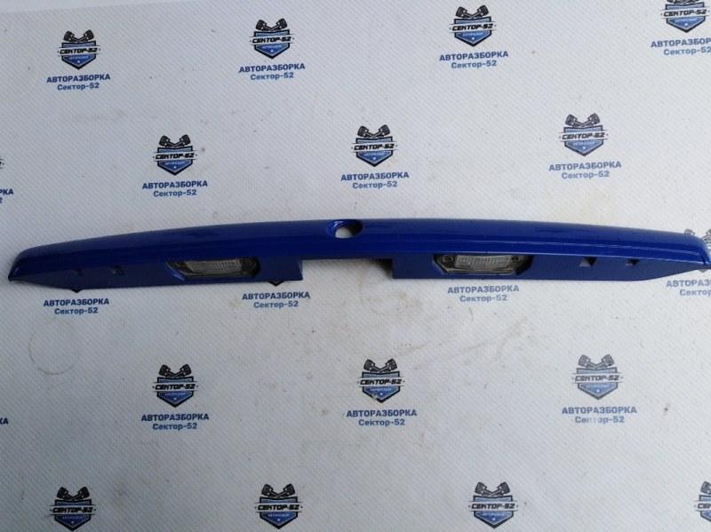 Накладка крышки багажника Skoda Octavia A4 AEE 2004 (б/у)