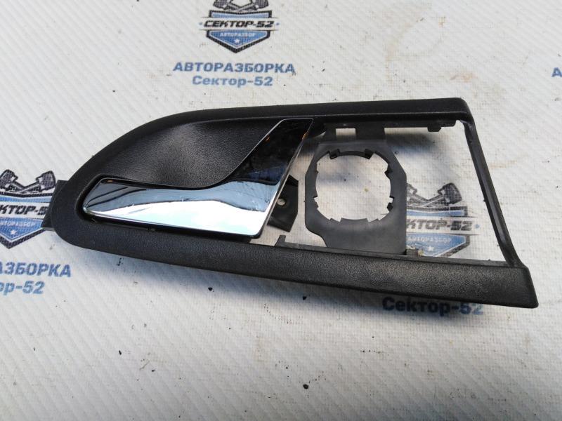 Ручка двери внутренняя Skoda Octavia A4 AEE 2004 задняя левая (б/у)