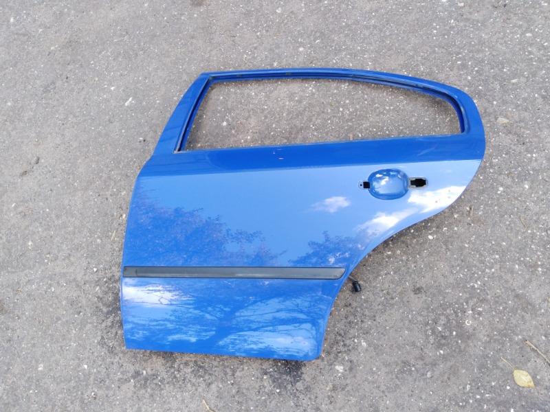 Дверь Skoda Octavia A4 AEE 2004 задняя левая (б/у)