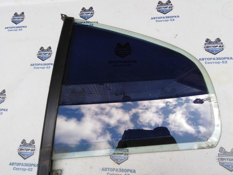 Стекло двери Skoda Octavia A4 AEE 2004 заднее левое (б/у)