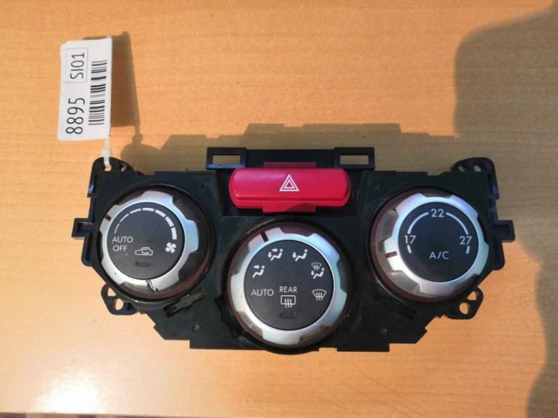 Блок управления климат-контролем Subaru Impreza GE3 EL15 2008 (б/у)