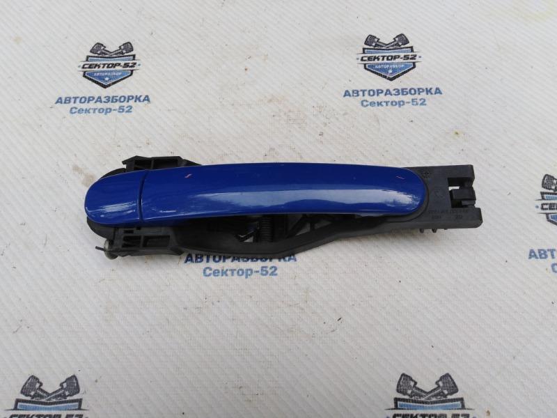 Ручка двери наружная Skoda Octavia A4 AEE 2004 задняя правая (б/у)
