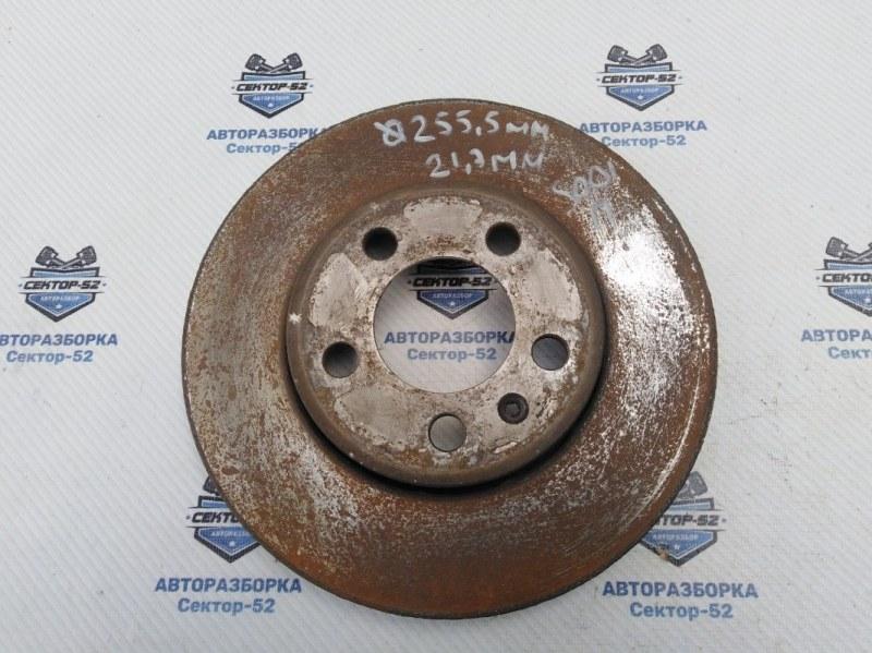 Диск тормозной Skoda Octavia A4 AEE 2004 передний (б/у)