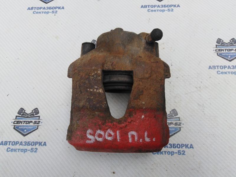 Суппорт тормозной Skoda Octavia A4 AEE 2004 передний левый (б/у)