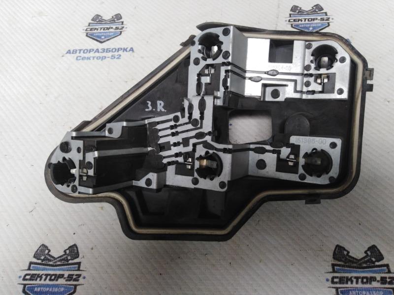 Плата фонаря Opel Astra H Z18XER 2006 задняя правая (б/у)