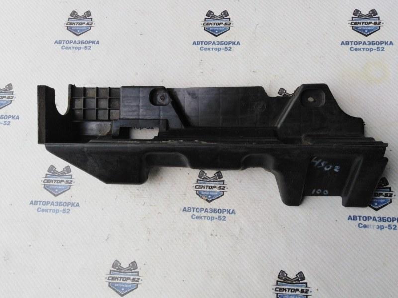 Дефлектор радиатора Hyundai Solaris RB G4FC 2012 правый (б/у)
