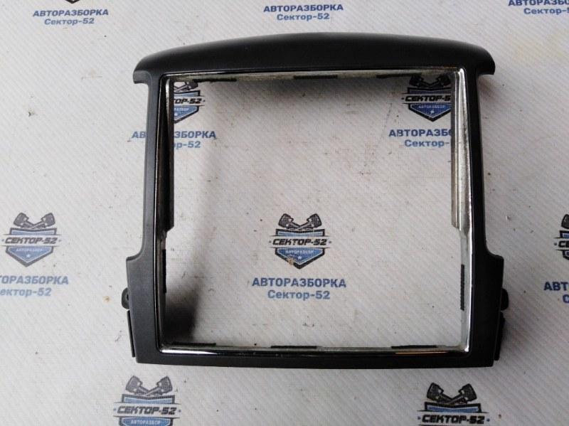 Накладка консоли центральной (рамка) Kia Sorento BL D4CB 2008 (б/у)