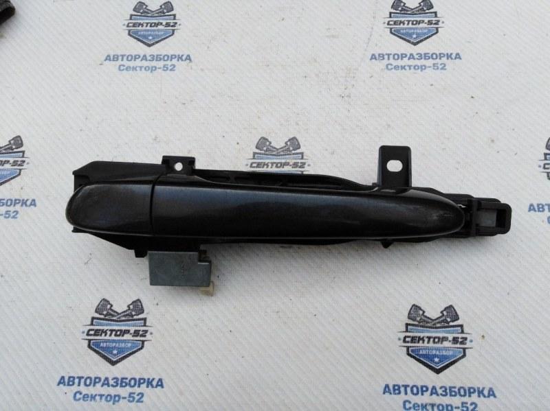 Ручка двери наружная Mazda Mazda6 GH LF17 2010 задняя левая (б/у)