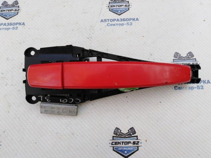 Ручка двери наружная Chevrolet Cruze J300 F16D3 2011 задняя левая (б/у)