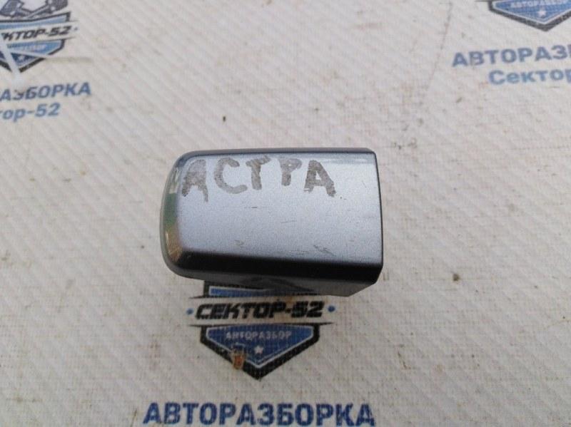 Ручка двери наружная Opel Astra H Z16XEP 2005 передняя (б/у)