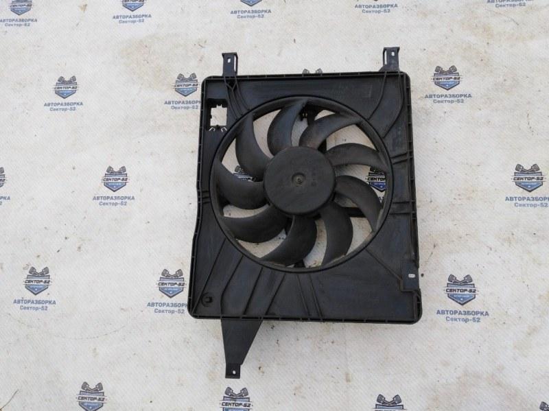 Вентилятор радиатора Nissan Qashqai J10 MR20DE 2007 (б/у)