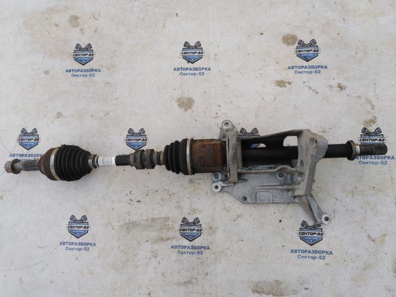 Привод Nissan Qashqai J10 MR20DE 2007 передний правый (б/у)