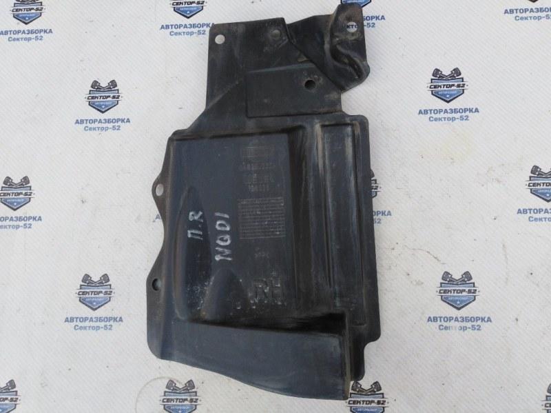 Пыльник двигателя Nissan Qashqai J10 MR20DE 2007 правый (б/у)