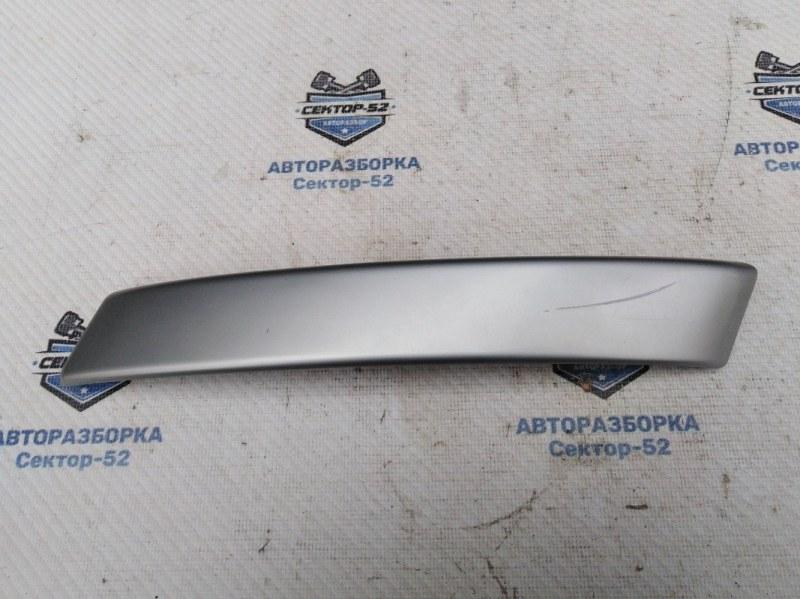 Накладка ручки двери внутренняя Nissan Qashqai J10 MR20DE 2007 передняя правая (б/у)