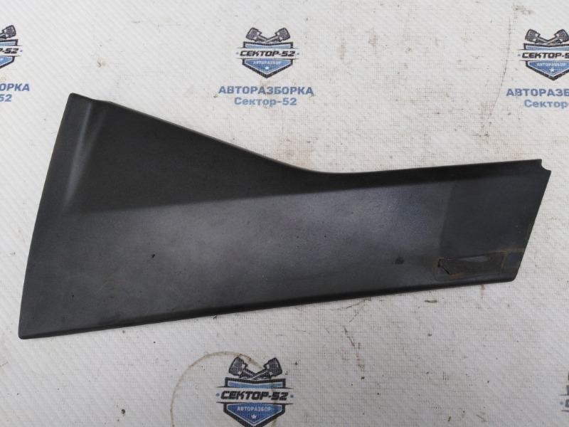 Накладка двери Nissan Qashqai J10 MR20DE 2007 задняя левая (б/у)