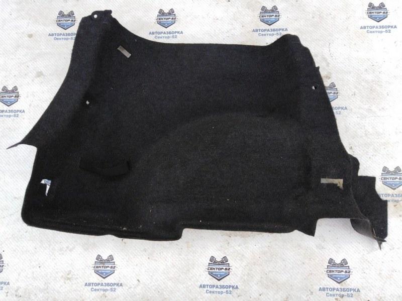 Обшивка багажника боковая Nissan Qashqai J10 MR20DE 2007 левая нижняя (б/у)