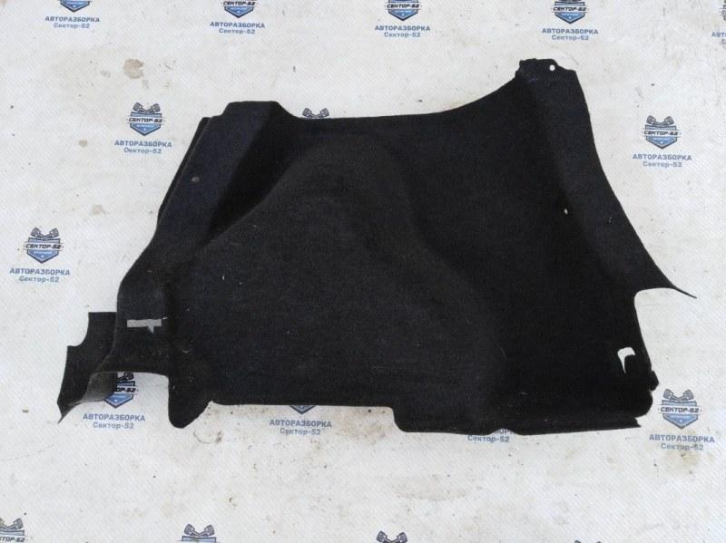 Обшивка багажника боковая Nissan Qashqai J10 MR20DE 2007 правая нижняя (б/у)