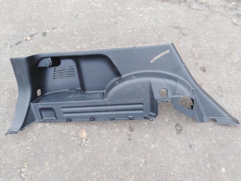 Обшивка багажника боковая Nissan X-Trail T31 MR20DE 2009 левая нижняя (б/у)