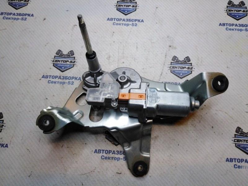 Мотор стеклоочистителя Nissan X-Trail T31 MR20DE 2009 задний (б/у)