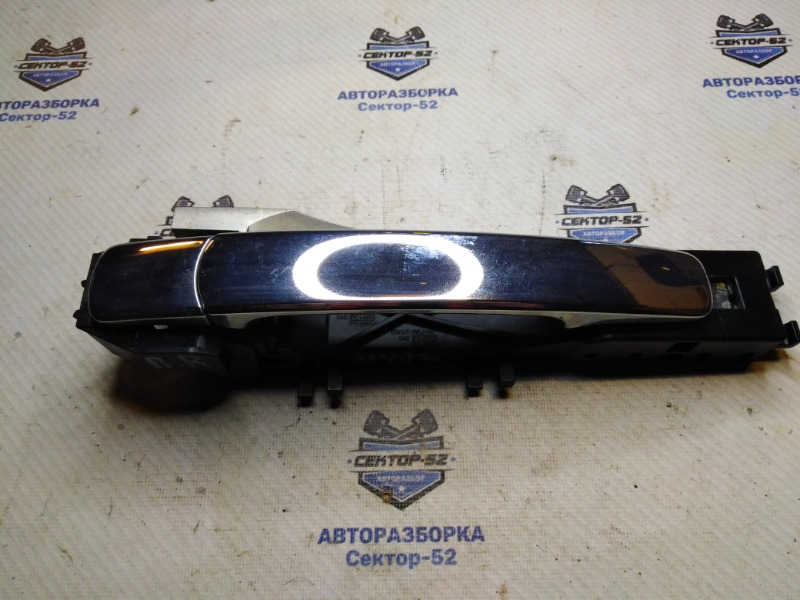 Ручка двери наружная Nissan X-Trail T31 MR20DE 2009 передняя правая (б/у)