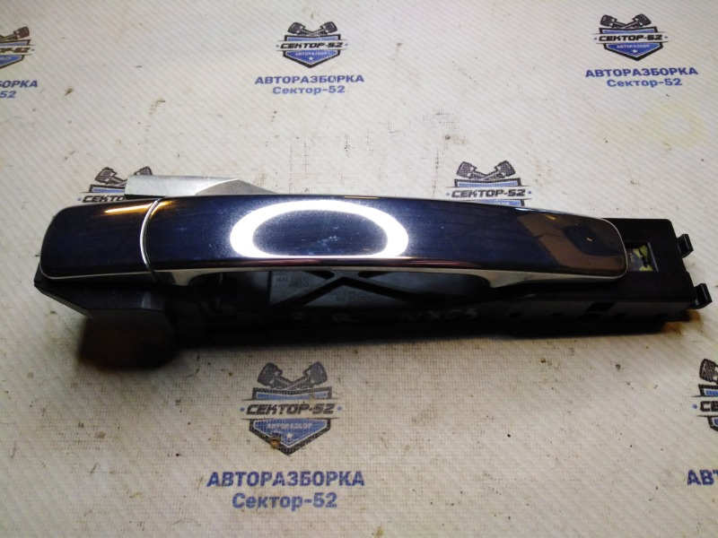 Ручка двери наружная Nissan X-Trail T31 MR20DE 2009 задняя правая (б/у)