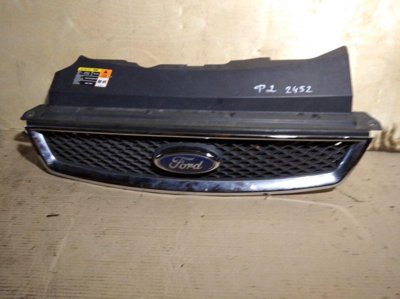 Решетка радиатора верхняя Ford Focus 2 2004-2008 (б/у)
