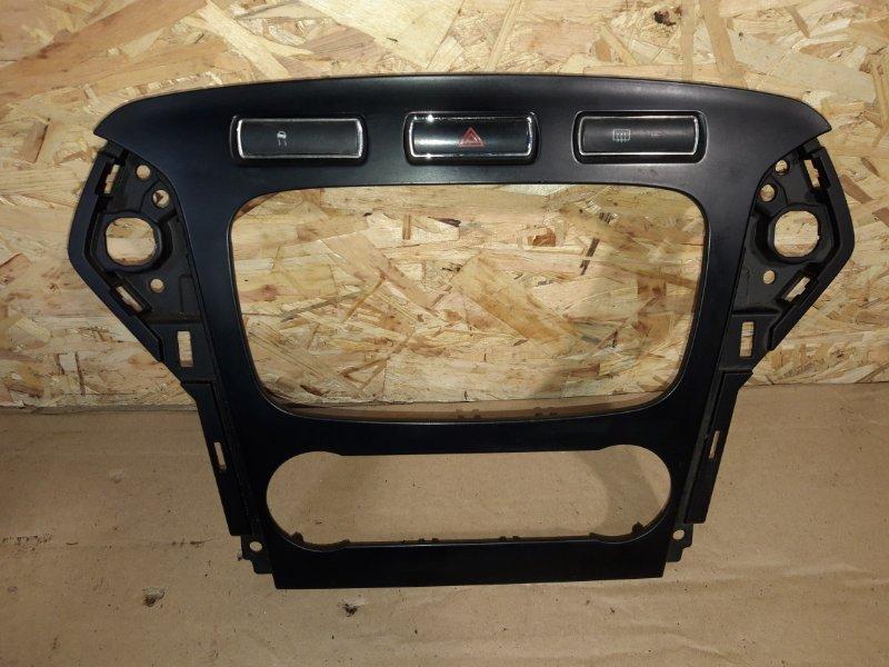 Рамка магнитолы Ford Mondeo 4 (2007-2014) (б/у)
