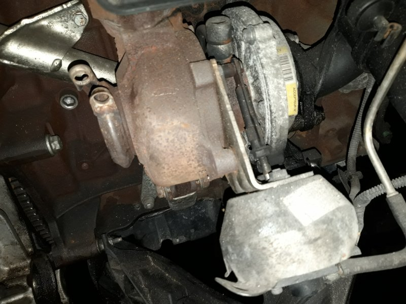 Турбина Ford Mondeo 4 (2007-2014) 2.0 ДИЗЕЛЬ (б/у)