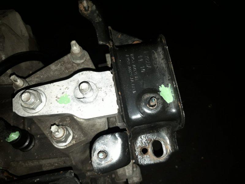 Опора двигателя левая Ford Fiesta (2008-2012) 1.6 БЕНЗИН 2012 левая (б/у)