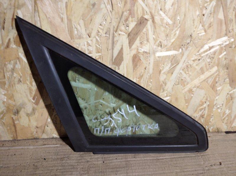Стекло кузовное Ford C-Max 2003-2007 переднее правое (б/у)