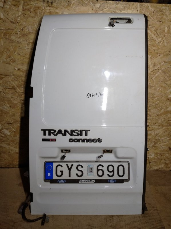 Дверь багажника левая Ford Transit/tourneo Connect (2002-2012) (б/у)