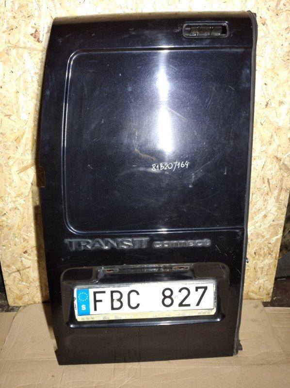Дверь багажника левая Ford Transit/tourneo Connect (2002-2012) задняя левая (б/у)