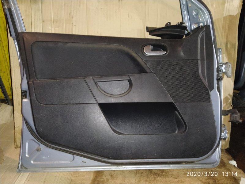 Обшивка двери Ford Fiesta (2001-2008) 2002 передняя левая (б/у)