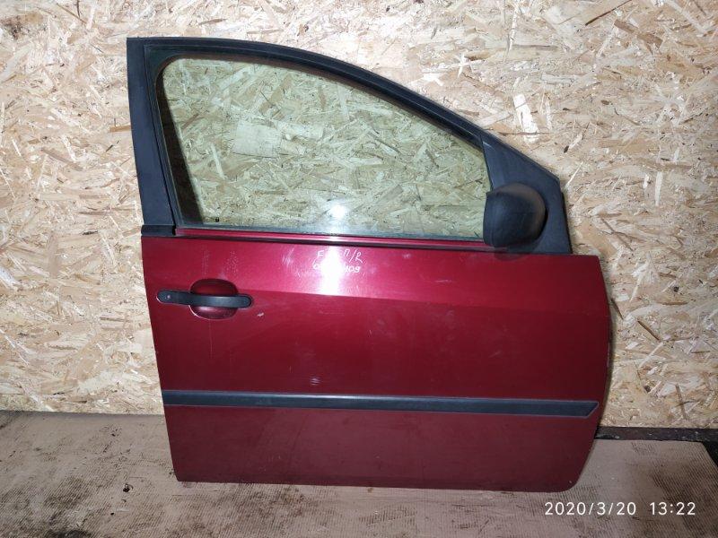 Дверь передняя правая Ford Fiesta (2008-2012) 2002 передняя правая (б/у)
