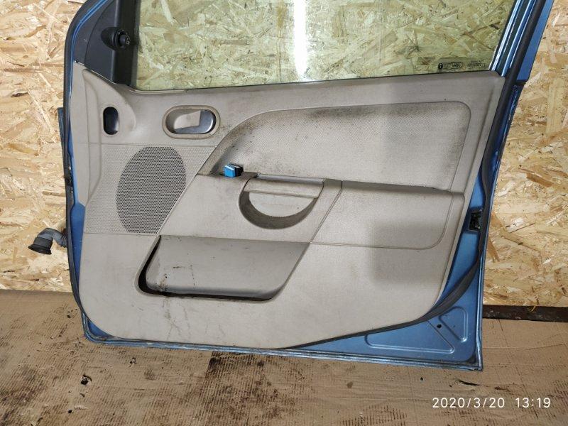 Обшивка двери Ford Fiesta (2001-2008) 2002 передняя правая (б/у)