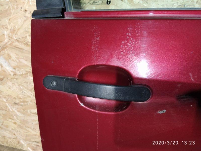 Ручка двери наружная Ford Fiesta (2001-2008) 2002 передняя правая (б/у)