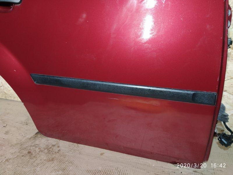 Молдинг двери Ford Fiesta 2001-2008 2002 задний правый (б/у)