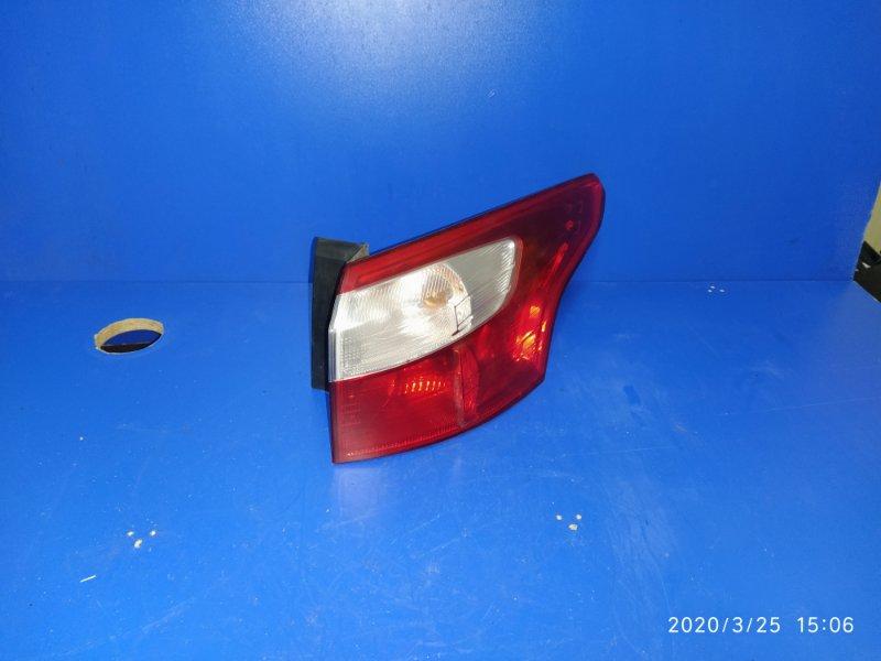 Фонарь задний наружный правый Ford Focus 3 (2011>) 2011 задний правый (б/у)