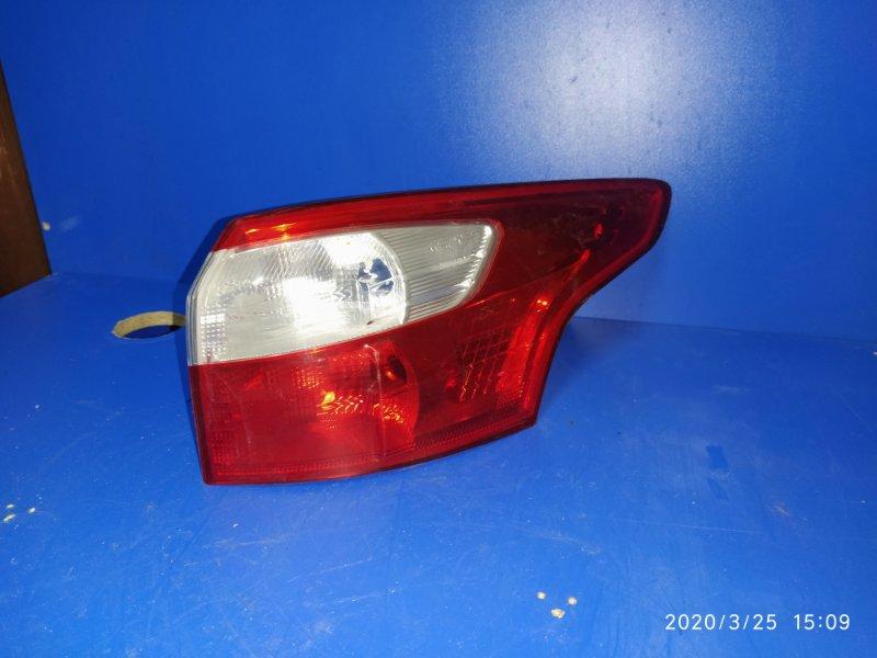 Фонарь задний наружный правый Ford Focus 3 (2011>) 2011 (б/у)