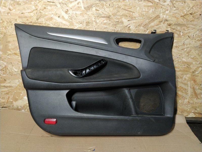 Обшивка двери Ford Mondeo 4 (2007-2014) передняя левая (б/у)