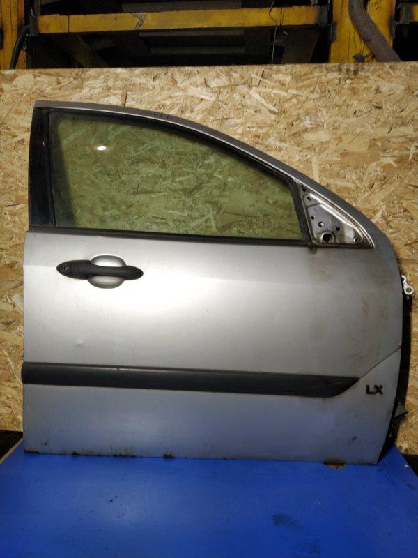 Дверь передняя правая Ford Focus 1 (1998-2005) (б/у)
