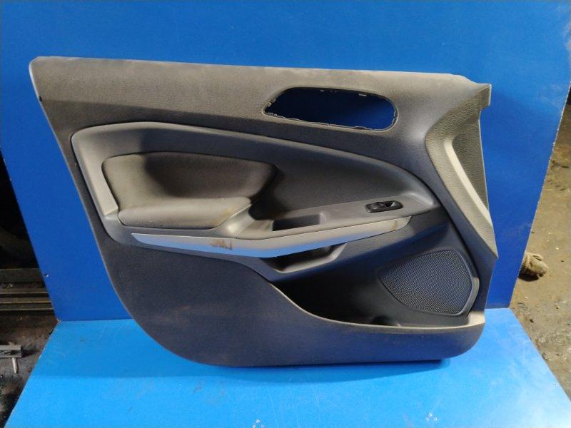 Обшивка двери Ford Ecosport 2013> передняя левая (б/у)