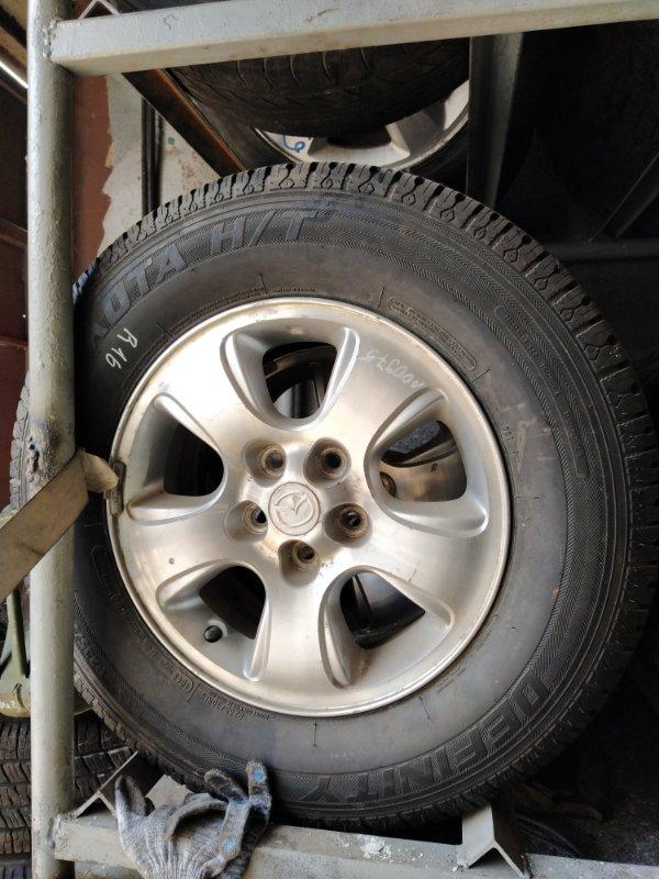 Диск с резиной r16 Mazda (б/у)