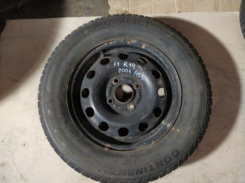 Диск с резиной r14 Ford (б/у)