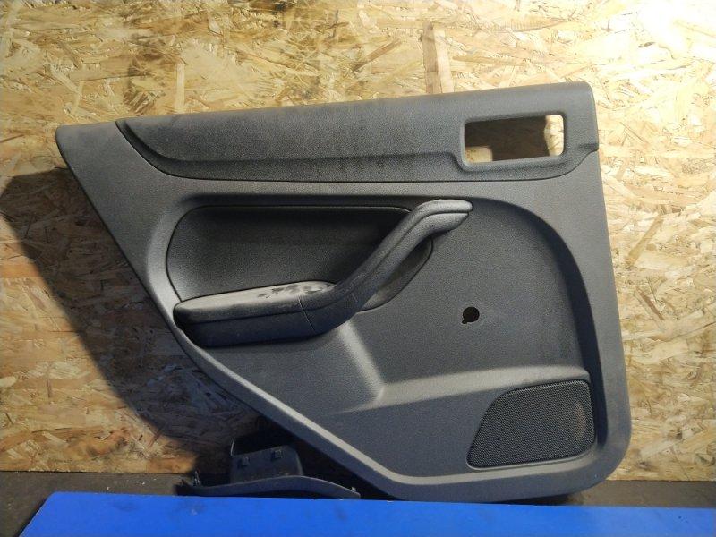 Обшивка двери Ford Focus 2 2004-2008 УНИВЕРСАЛ задняя левая (б/у)